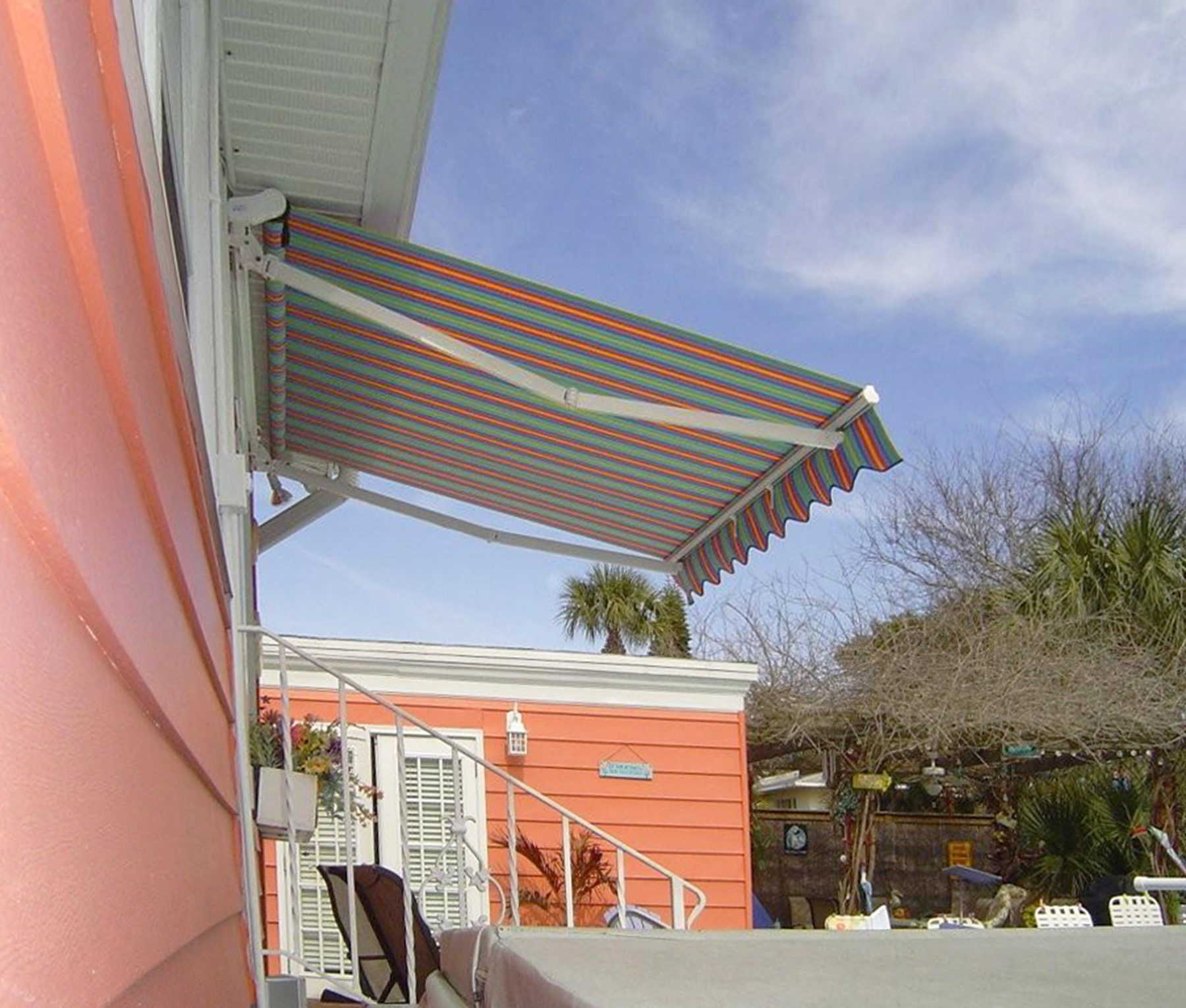 17′ Width X 10′ Projection Retractable Awning ...